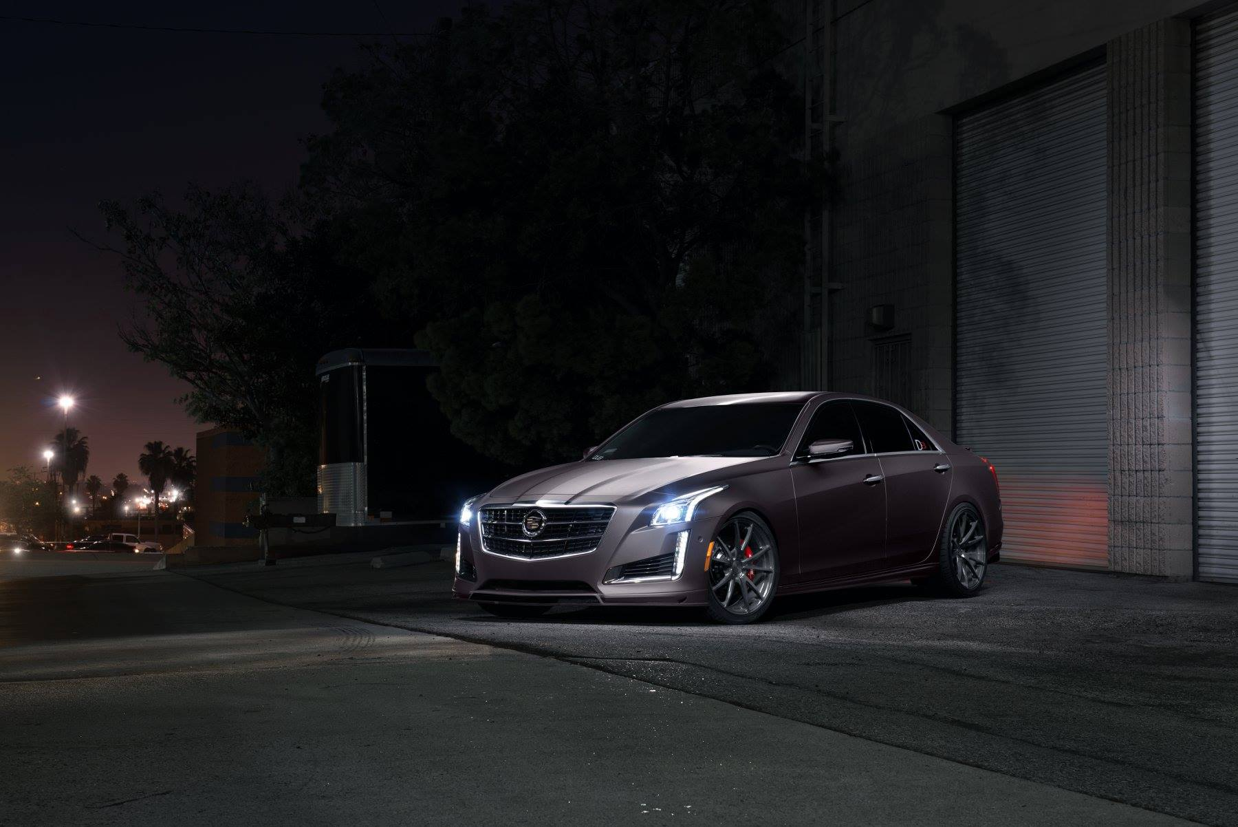 Cadillac CTS V Sport Is Not Just Another Regular Car, It Is A Real Example  Of A Perfect Car In All Meanings. The Aggressive Design Philosophy Of The  CTS ...