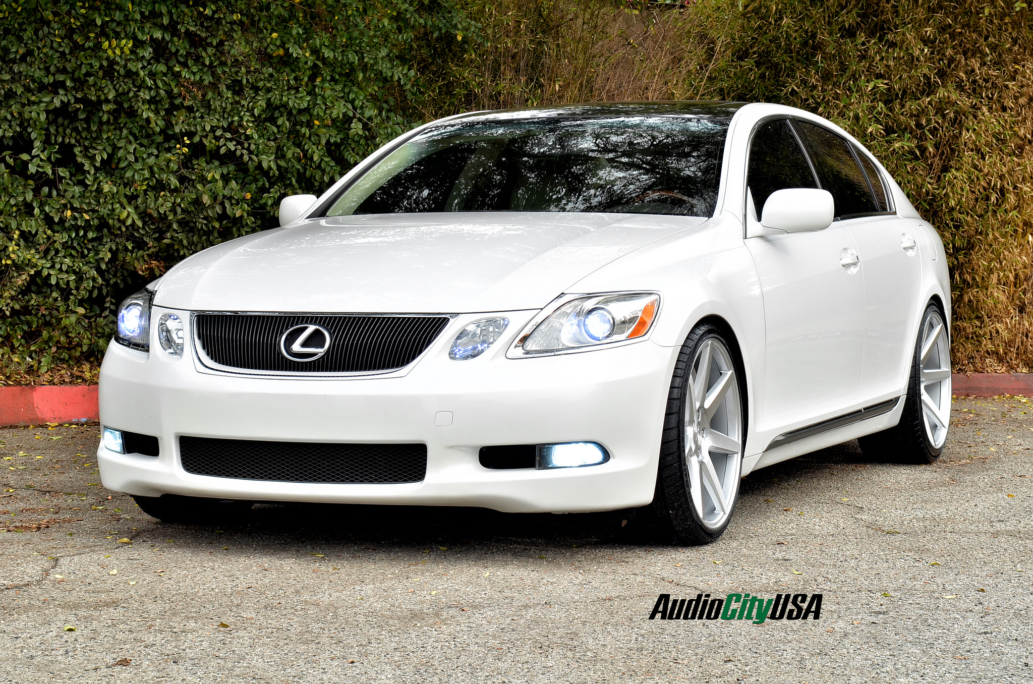 2008 lexus gs 350 lowered on rennen crl 70 autospice. Black Bedroom Furniture Sets. Home Design Ideas