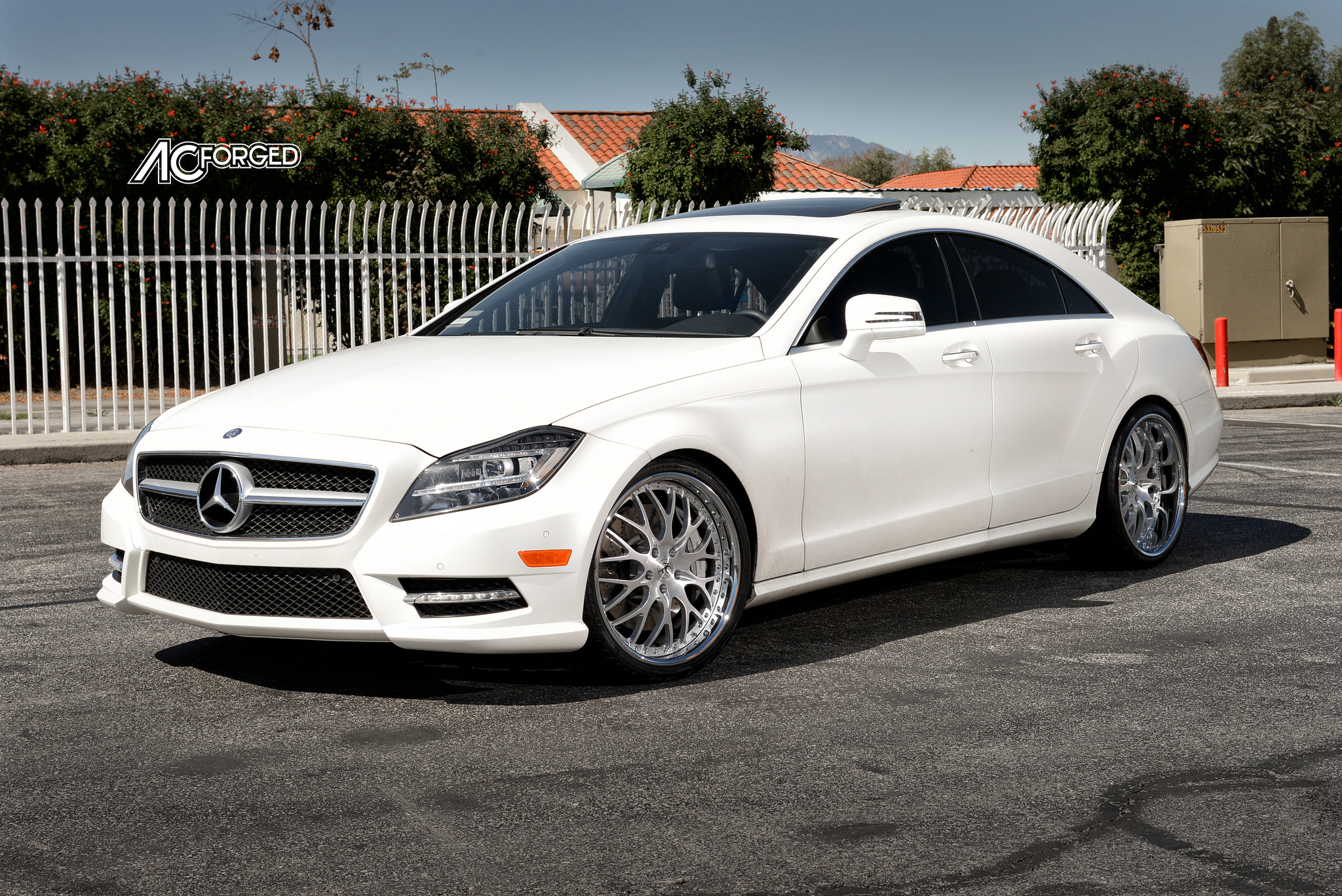 2013 mercedes benz cls 550 lowered on ac forged 313 for Mercedes benz cls 550