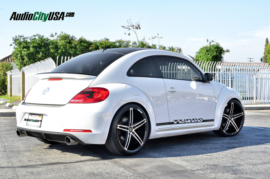 2013 Volkswagen New Beetle Lowered On Lexani R Three