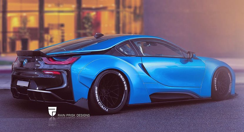 Bmw I8 Liberty Walk Launched In Rendering Autospice