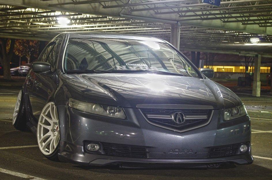 2005 Acura Tl Slammed On Work Cr Kiwami 18 Quot Gt Autospice
