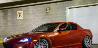 Stanced Mazda RX-8
