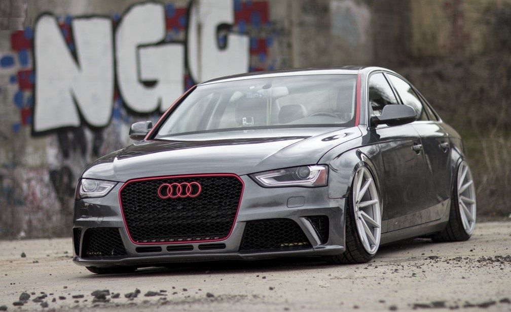 audi a4 on VOSSEN CVT wheels