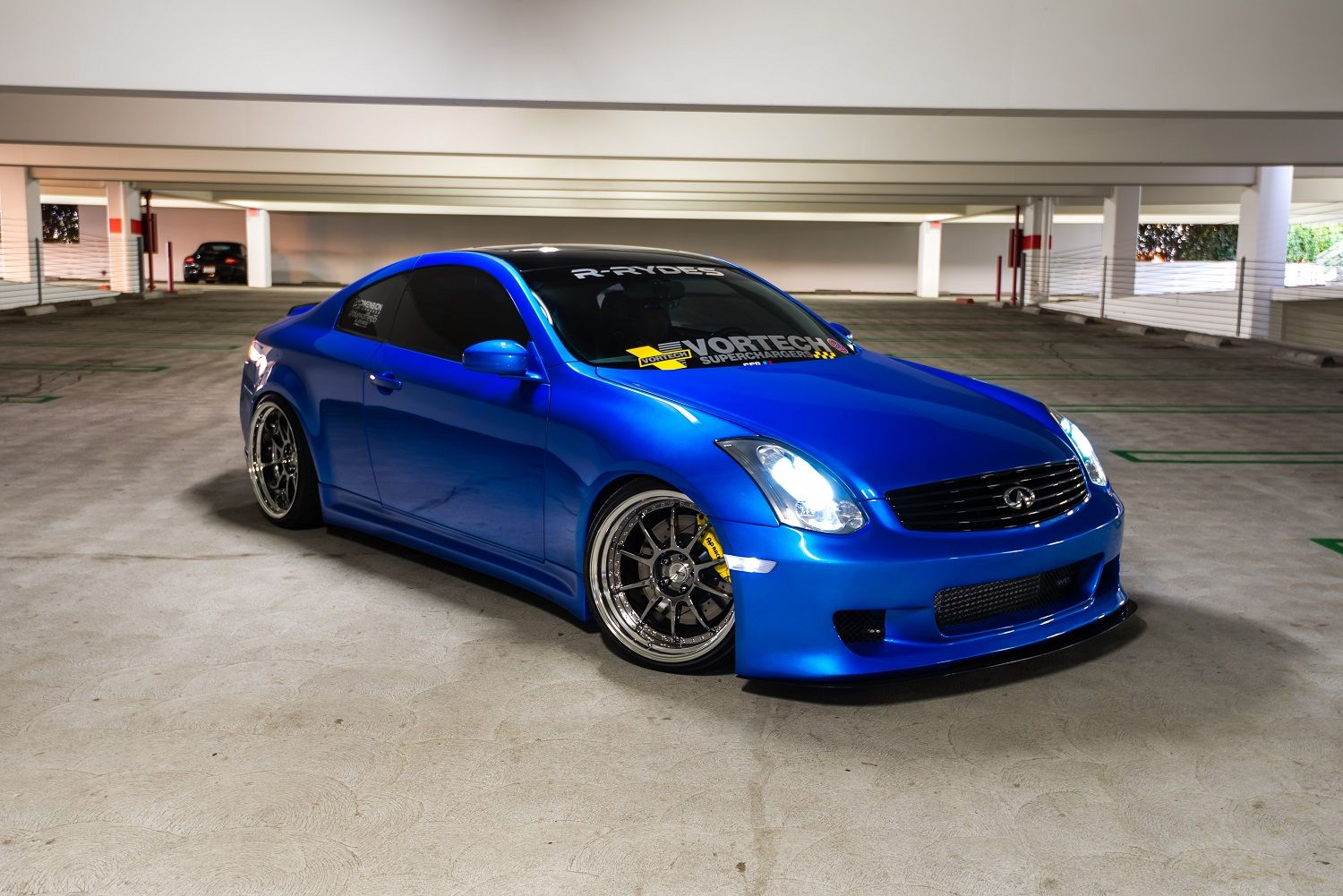 2005 Infiniti G35 Coupe Lowered On Ssr Sp3 Wheels Autospice