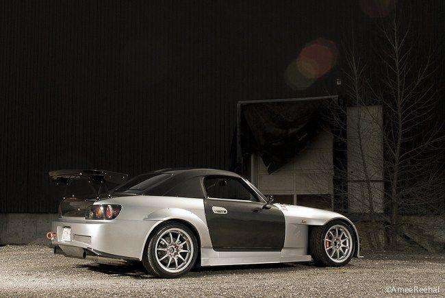 "S2000 lowered on 17"" Volk Racing CE28N"