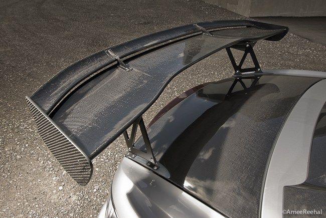 Dry Carbon Fiber 3d Gt Wing