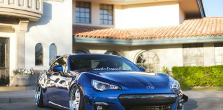 Lowered Subaru BRZ 2015