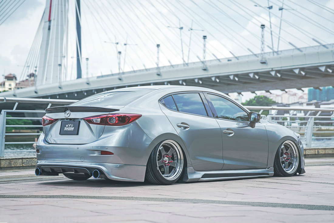 Lowered Mazda 3 Skyactiv 2015 On 18 Ssr Professor Sp1 Wheels 06 Fuse Box The Car Also Features Storm Design Side Skirt Which Adds To Aerodynamics Of And Boosts Overall Performance Cover